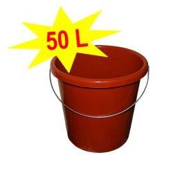 50L MEGA-Allzweckkübel XXL mit Henkel orange Artnr. MKO