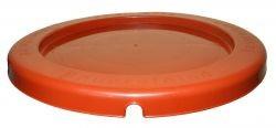 Deckel für MEGA-Kübel stapelbar orange Artnr. MDSO