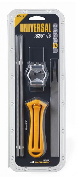 Feile FLO004 für McCulloch Kettensägen 4,8mm 2 Stück