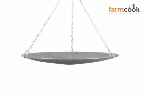 Lagerfeuerpfanne 56cm für Schwenkgrill von Farmcook E00402